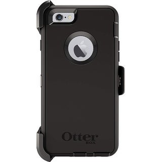 OtterBox Defender Case w/ Alpha Glass Screen Protector iPhone 6 & 6s - Black