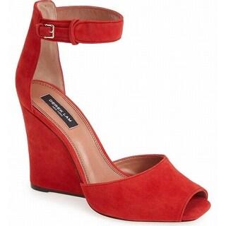 Derek Lam NEW Red Women's Shoes Size 6M Nansen Too Suede Sandal
