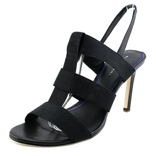 Elie Tahari Ithaca Women  Open Toe Canvas  Sandals
