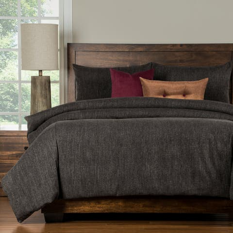 Copper Grove Standish Grey Luxury 6-piece Duvet Cover Set
