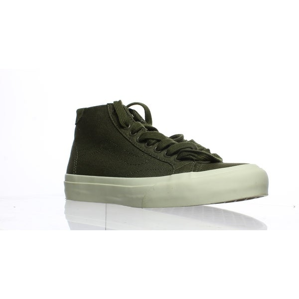 fdc3736308 Shop Vans Womens Court Mid Green Fashion Sneaker Size 5.5 - On Sale ...