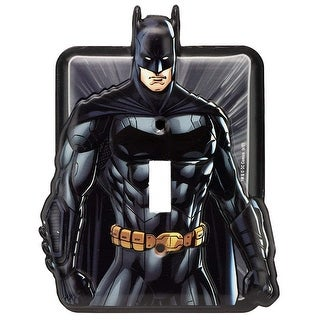 DC Comics Batman Embossed Metal Switch Plate
