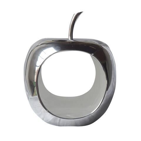 Apple Aluminum Decorative Accent Bowl