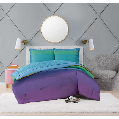 Material Girl Mermaid Ombre 7 Piece Bed in a Bag