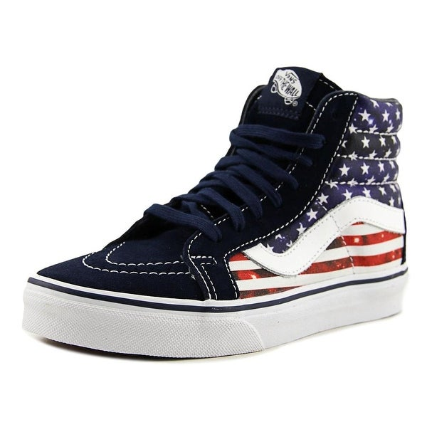 Vans Sk8-Hi Reissue (Americana) Dress Blues/True White Sneakers Shoes