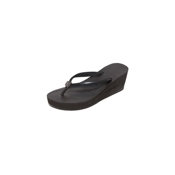 3325dc33e Shop Havaianas Womens High Fashion Poem Open Toe Beach - On Sale ...