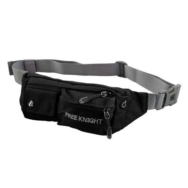 FreeKnight Authorized Running Jogging Phone Holder Sports Pouch Waist Bag Black