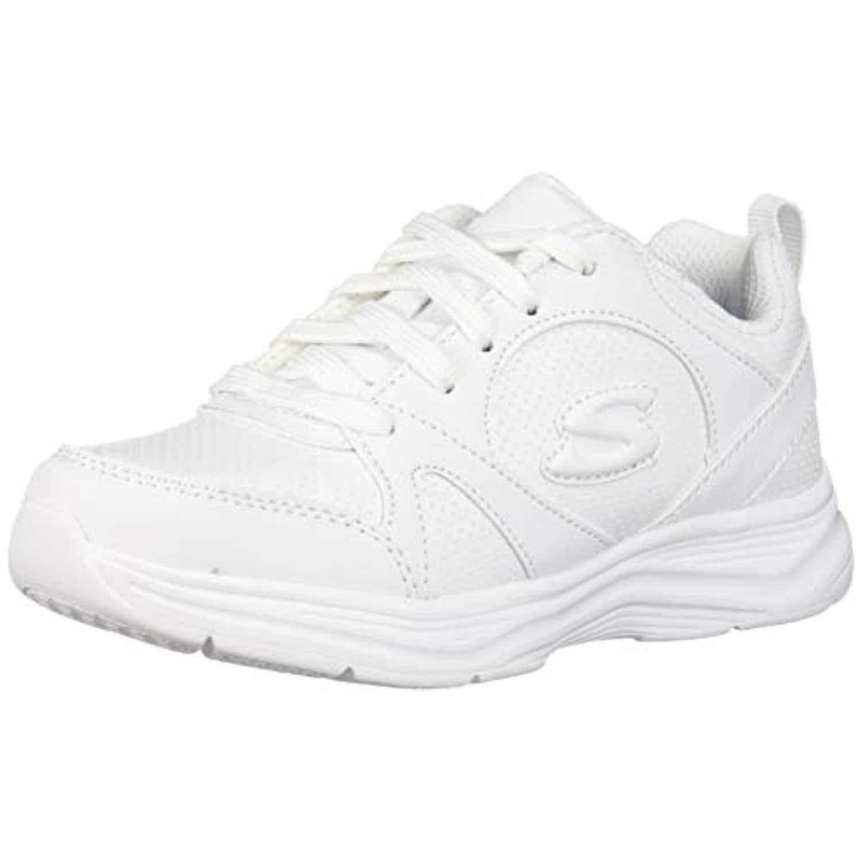 Girls' Glimmer Kicks Sneaker, White