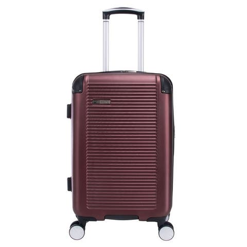 """Ben Sherman Norwich 20"""" Lightweight Hardside PET Expandable 8-Wheel Spinner Carry-On Luggage - Multiple Colors"""