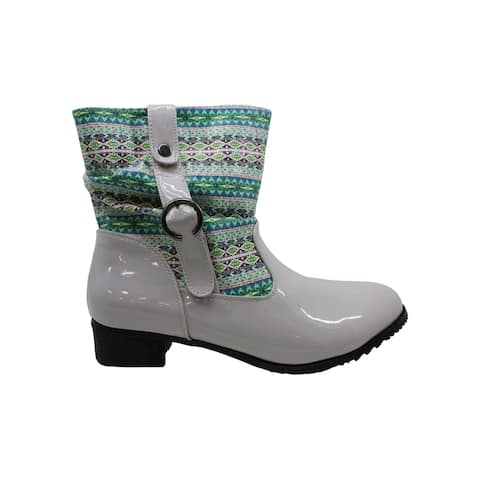 Beacon Womens Drizzle Closed Toe Mid-Calf Cold Weather Boots