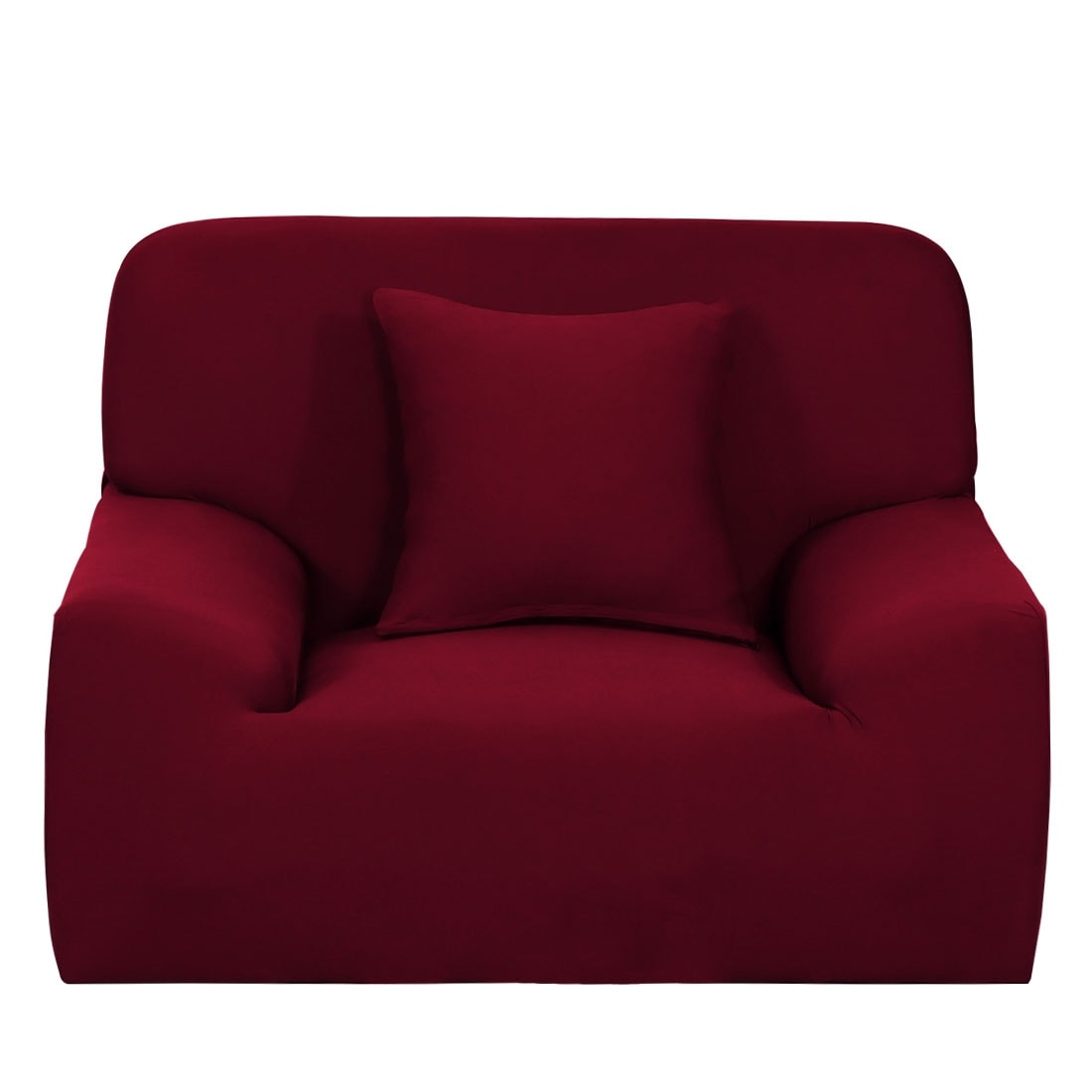 Sofa Slipcovers 21 Solid Color Sofa Cover Stretch Seat Couch ...