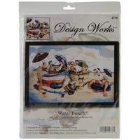 "Water Lunch Counted Cross Stitch Kit-14""X20"" 14 Count"