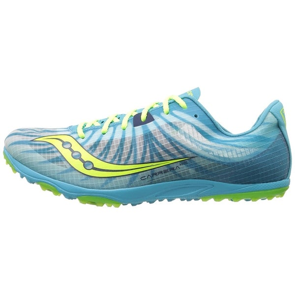 Saucony Womens Carrera Xc Flat Low Top Lace Up Fashion Sneakers