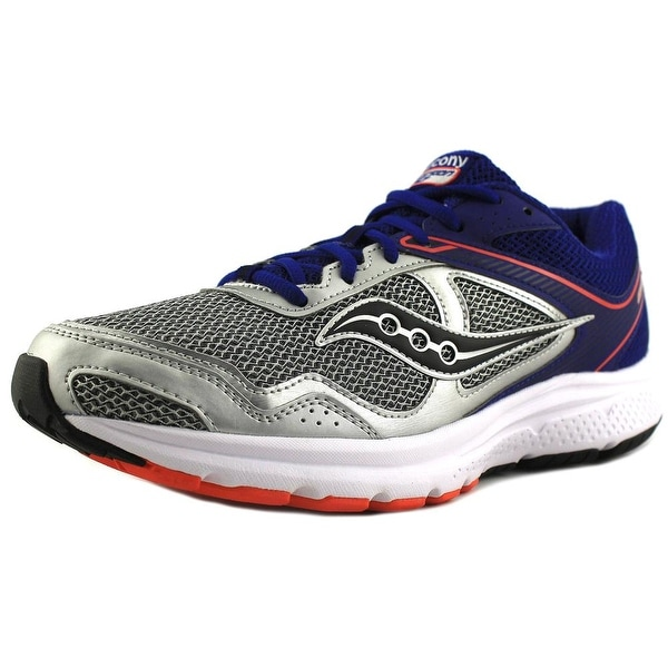 Saucony Grid Cohesion 10 SIL/BLU/ORG Running Shoes