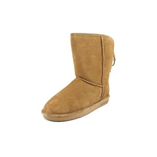 Bearpaw Elizabeth Women Round Toe Suede Brown Winter Boot