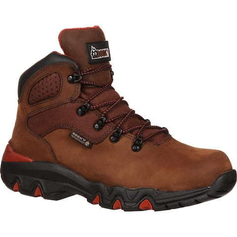Men S Rocky Foot Waterproof Hiker Work Boot Rkyk062