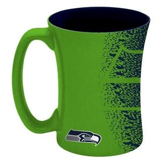 Seattle Seahawks Coffee Mug 14 Oz Mocha