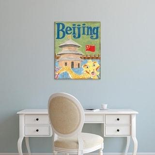 Easy Art Prints Megan Meagher's 'Beijing' Premium Canvas Art