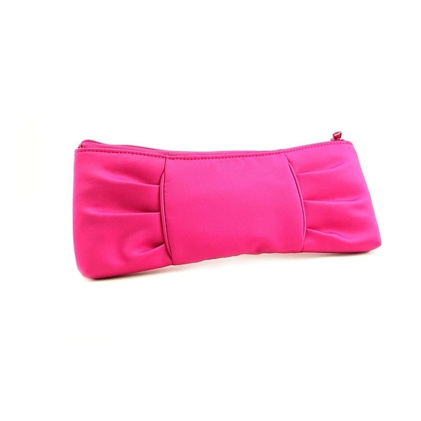 La Regale East West Bow Women Synthetic Evening Bag - Pink
