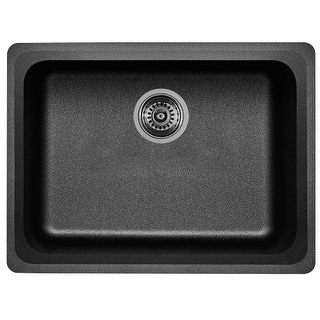 "Blanco 441367 Vision 24"" Single Basin Undermount Granite Composite Kitchen Sink"