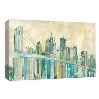 """PTM Images 9-148234  PTM Canvas Collection 8"""" x 10"""" - """"New York City Sketch"""" Giclee New York Art Print on Canvas"""