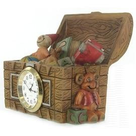 Miniature Resin Toy Box Clock