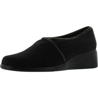 Spring Step Womens Maya Comfortable Walking Shoes - Black - 6 b(m) us