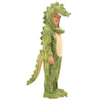 Green Al Gator Toddler Halloween Costume