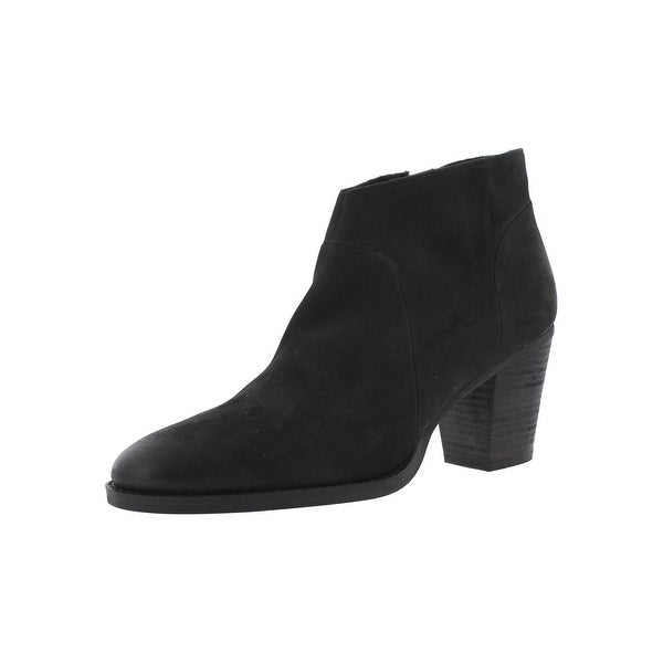 Steve Madden Womens Gilmore Ankle Boots Nubuck Round Toe