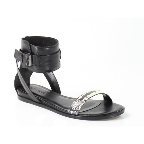 Pour La Victoire NEW Black Womens Shoes 5.5M Riko Python Sandal