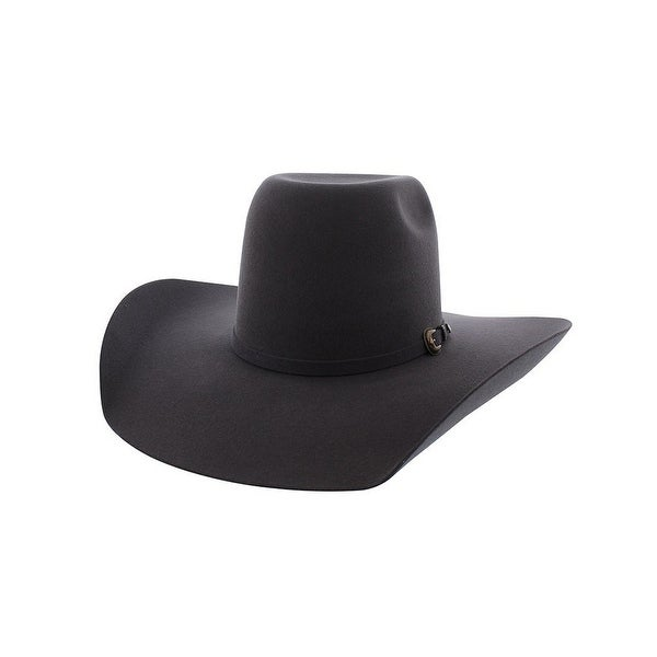 1a1d56f6dbcb3 Shop Resistol Cowboy Hat Mens Tuff Hedeman Pay Window 3X Wool Gray - Free  Shipping Today - Overstock - 19735060