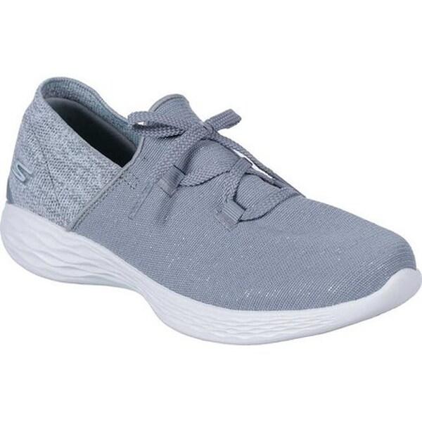 4633cf9bf5b4 Shop Skechers Women s YOU Revere Slip-On Sneaker Gray - Free ...