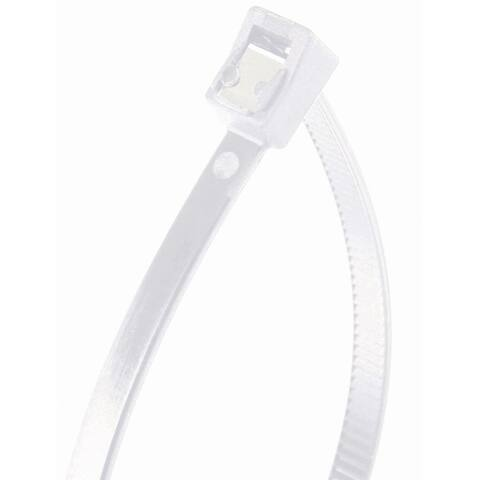 Gardner Bender 46-308SC Double Lock Self Cutting Cable Tie, Nylon, 50 Piece