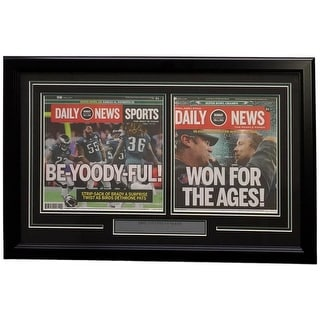 Philadelphia Eagles Framed Feb 5 2018 Super Bowl LII Champions Daily News Cover