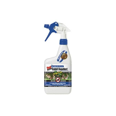 Liquid Fence HG-70212 Dual Action Rabbit Repellent, Ready-To-Use, 1 Qt