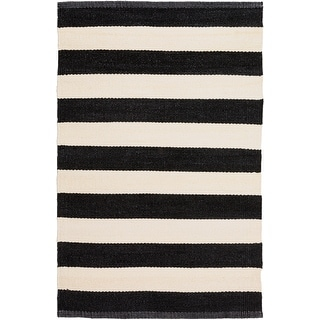 Link to Jonas Hand Woven Casual Stripe Indoor/Outdoor Area Rug Similar Items in Classic Rugs