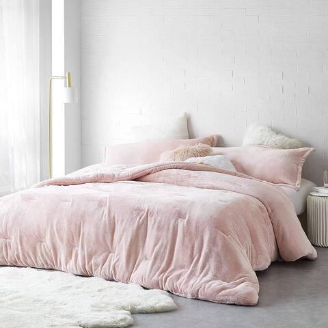 Coma Inducer Oversized Comforter - Me Sooo Comfy - Rose Quartz