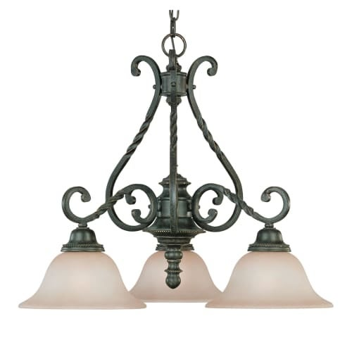 Jeremiah Lighting 22433 Sutherland 3 Light Mid-Sized Chandelier