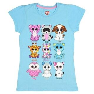 TY Beanie Boo Girls' Favorite Big Eye's Galore T-Shirt