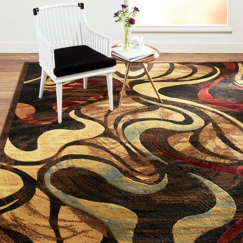 Home Dynamix Catalina Picasso Contemporary Abstract Area Rug