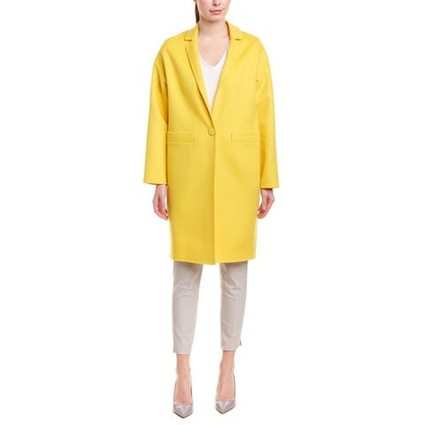 Escada Wool & Cashmere-Blend Coat