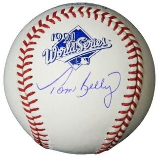Tom Kelly 1991 World Series Baseball