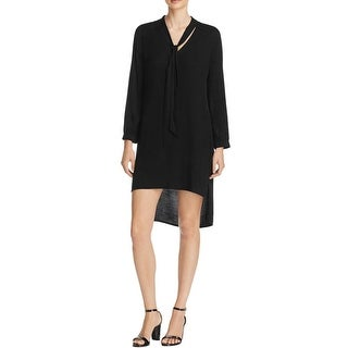 Ella Moss Womens Casual Dress Long Sleeves High Low
