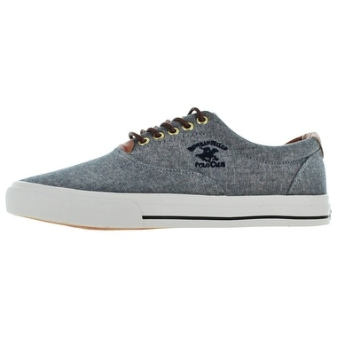 Beverly Hills Polo Club Men's Canvas Fashion Boat Shoes Sneakers