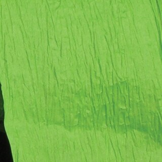 "Lime Green Semi Crushed Paper Craft Ribbon 4"" x 108 Yards"