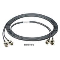 Black Box DS3-0010-BNC Black Box High-Speed Coax Cable - BNC Male Network - BNC Male Network - 10ft - Gray