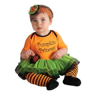 Baby Pumpkin Princess Costume 0-6 months
