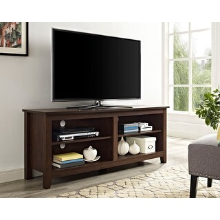 Link to Porch & Den Dexter 58-inch Traditional Brown TV Stand Console Similar Items in TV Consoles