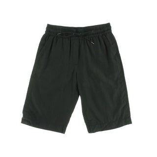 Pure DKNY Womens Basketball Drawstring Athletic Shorts