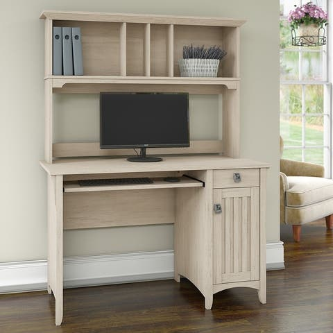 The Gray Barn Lowbridge Mission Style Desk with Hutch